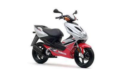 Yamaha Aerox R - Competition White