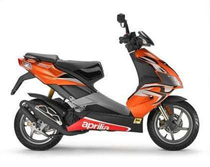 Aprilia SR 50 R - Speed Orange