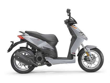 Aprilia Sport City One 50 4T - Silver Excalibur