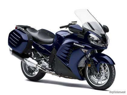 Kawasaki 1400 GTR 2010 - Candy Neptune Blue / Fat Super Black