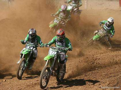 Kawasaki Team Green Cup - carrera de motocross