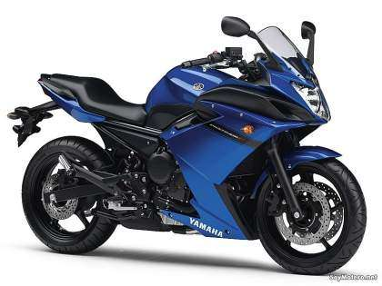 Nueva Yamaha XJ6 Diversion F - color azul