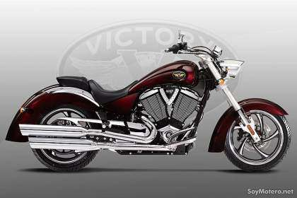 Victory Kingpin 2010 - color burdeos