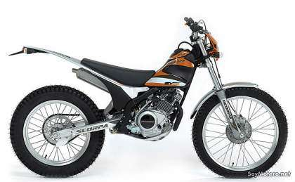 Scorpa SY 125-4T Long Ride 2010