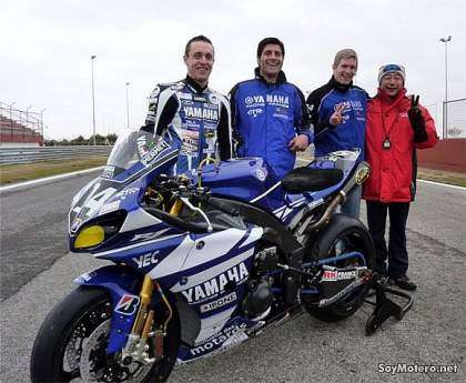 Tema Yamaha France GMT 94 - Gregorio Lavilla, David Checa, Kenny Foray y Christophe Guyot