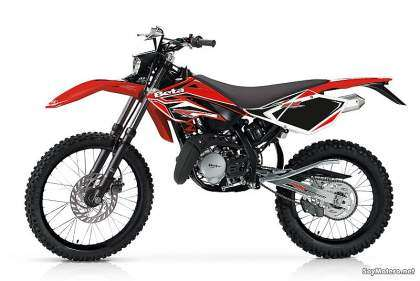 Beta RR 50 Enduro Standard - color rojo