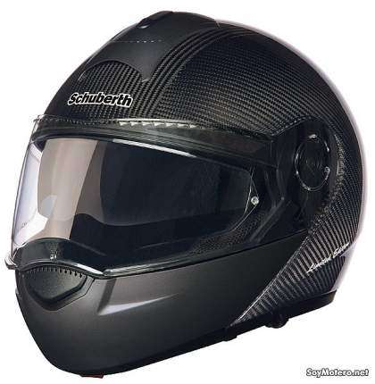 casco modular Schuberth C3 Carbon