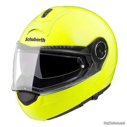 casco modular Schuberth S3 Fluo Yellow