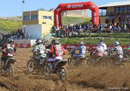 motocross - MX Elite Osuna 2009