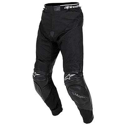 Alpinestar A-10 Leather/Textile - Vista frontal