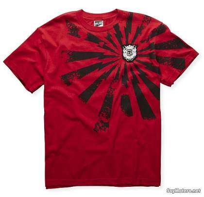 camiseta Fox Red Sping