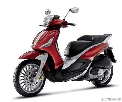Piaggio Berverly 125ie 2010 - color rojo