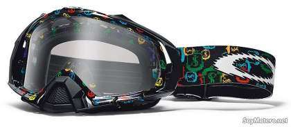 Gafas MX Oakley Mayhem réplica James Stewart negro