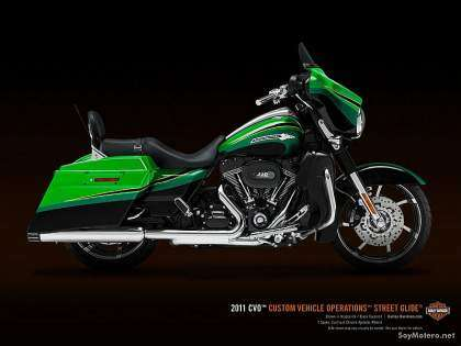 Harley-Davidson CVO Street Glide 2011 - Kryptonite / Black Diamont