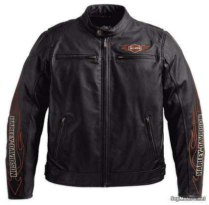Chaqueta de cuero Harley-Davidson Ride Ready Leather Jacket