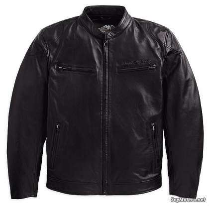 chaqueta de cuero Harley-Davidson Axle Leather Jacket
