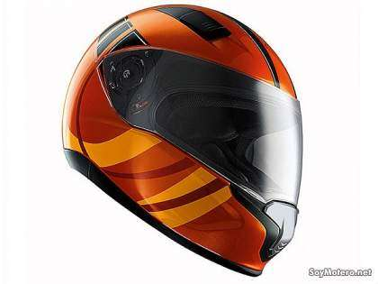 Casco BMW Sport decoración magma