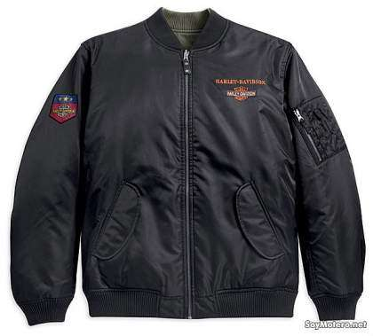 Chaqueta Harley-Davidson Reversible Nylon Flight Jacket