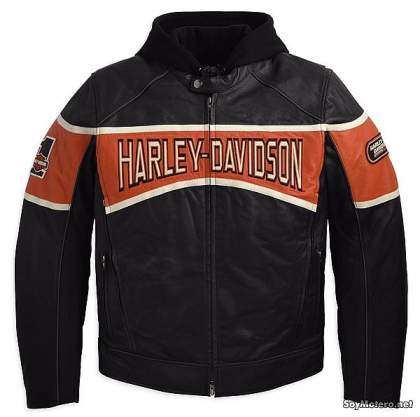 cazadora de cuero Harley-Davidson Motor 3-in-1 Leather Jacket