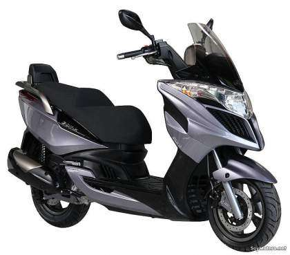 Kymco Grand Dink 300i - Vista lateral derecha