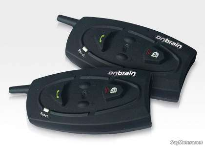 Intercomunicador bluetooth para moto Iride de OnBrain