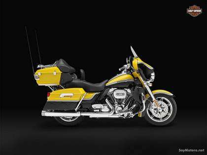 Harley-Davidson CVO Ultra Classic Electra Glide 2012: Crystal Citron/Diamond Dust