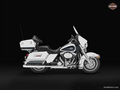 Harley-Davidson Electra Glide Classic 2012: BIRCH WHITE/MIDNIGHT PEARL
