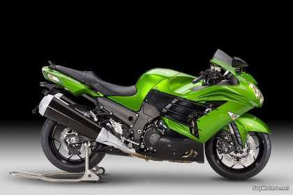 Kawasaki ZZR1400: Golden Blazed Green