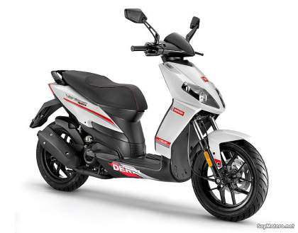 Derbi Variant Sport 125 4T, color blanco