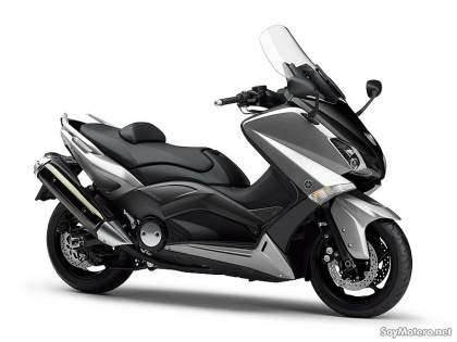 Yamaha TMAX 2012 ABS color gris metalizado