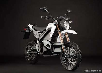 Zero DS 2012 color blanco vista frontal
