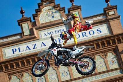 Dany Torres disputará elRed Bull X-Fighters Madrid 2012