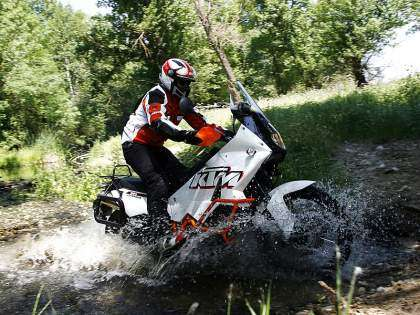 La KTM 990 Adventure es la reina de las trail off-road