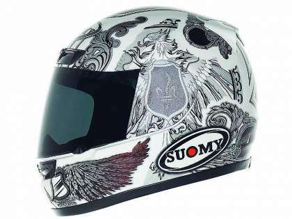 Casco Suomy Apex blanco