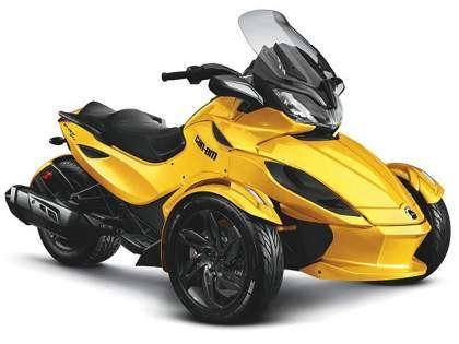 Can-Am Roadster Spider 2013