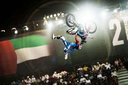 Dany Torres, ganador del Red Bull X-Fighters de Dubai 2013