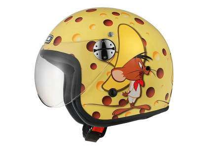 "Casco Jet AXO Woody Jr. Warner ""Speedy González"""