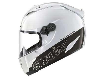casco Shark Race-R PRO Carbon blanco