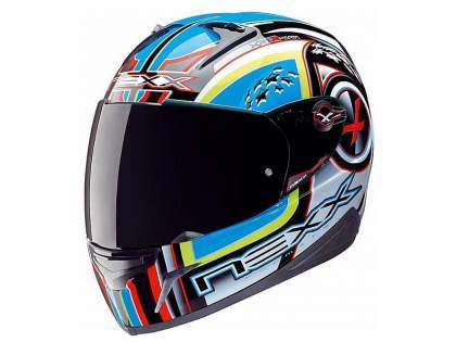 Casco Integral Nexx Alpha amarillo