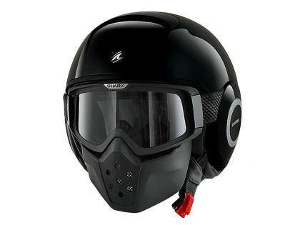 Casco Shark Raw negro
