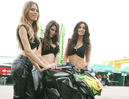 Chicas Monster Kawasaki