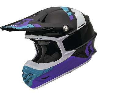 Casco Scott 350 Pro Photon purple-negro