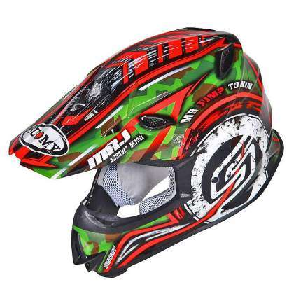 Vista izquierda del casco Suomy Mr. Jump Assault