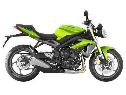 Triumph Street Triple 2014 Cosmic Green
