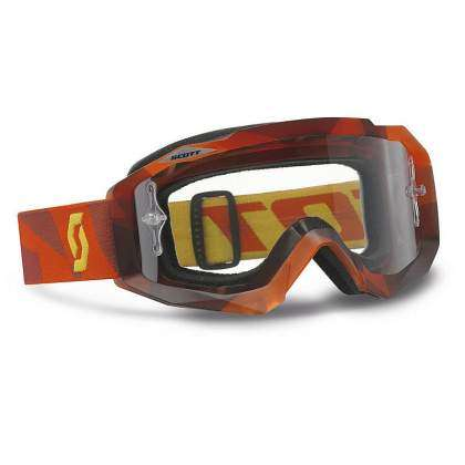 Gafas Scott Hustle MX Abstract Red