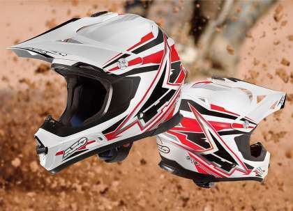 Casco off road AXO Jump SX10 2014