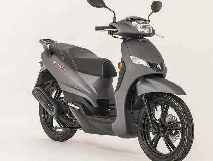 Peugeot Scooters Tweet Evo RS lateral derecho negro