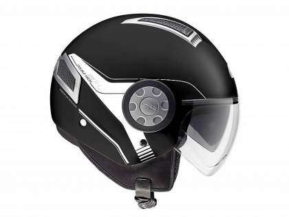 Casco 11.1 Air Jet de Givi negro frontal