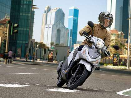 Suzuki Address 110 2015: el low cost de rueda alta