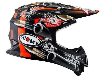 Nuevo casco Suomy Mr.Jump Bullet en negro mate.